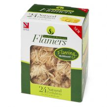 Certainly Wood Flamers - 24 Pack